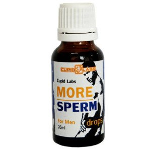 more sperm drops
