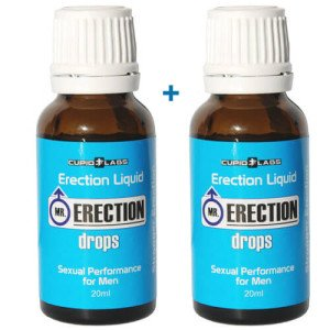 2 шишенца с капки за ерекция Erection drops